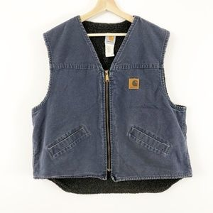 Carhartt Men's V26 Sherpa-Lined Rugged Vest XL